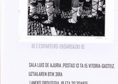 VITORIA JULIO 2019 SALA LUIS DE AJURIA